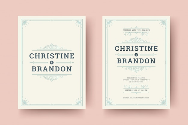 Hochzeit save the date einladungskarten blüht verzierungen.