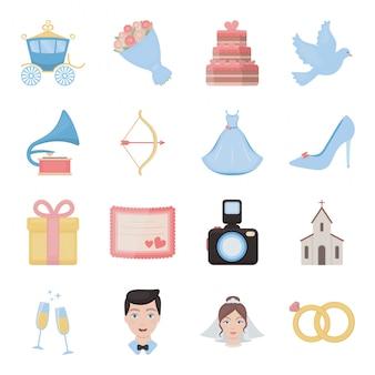Hochzeit-symbol