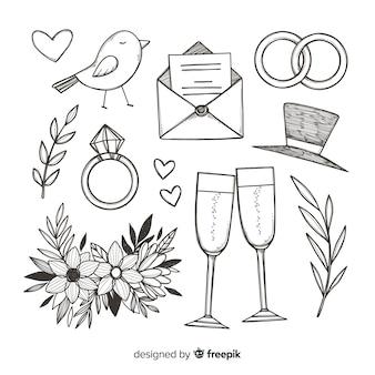 Hochzeit vorschlag konzept