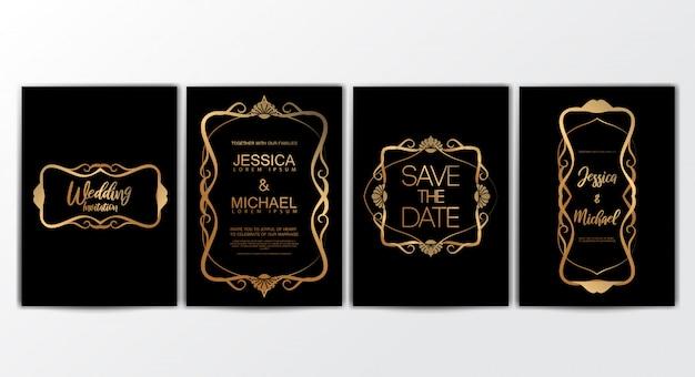 Hochzeits-einladungskarten