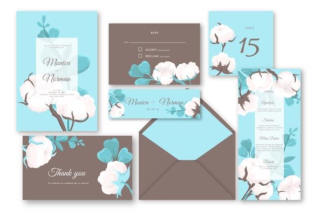 Hochzeitsbriefpapier