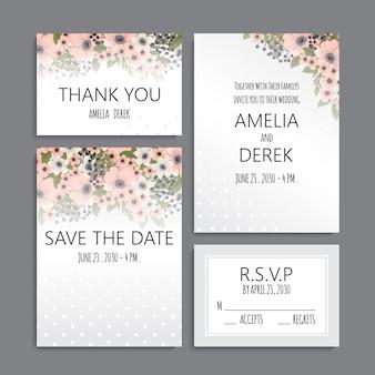 Hochzeitseinladung.