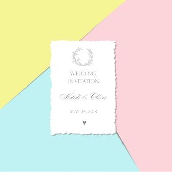 Hochzeitseinladung