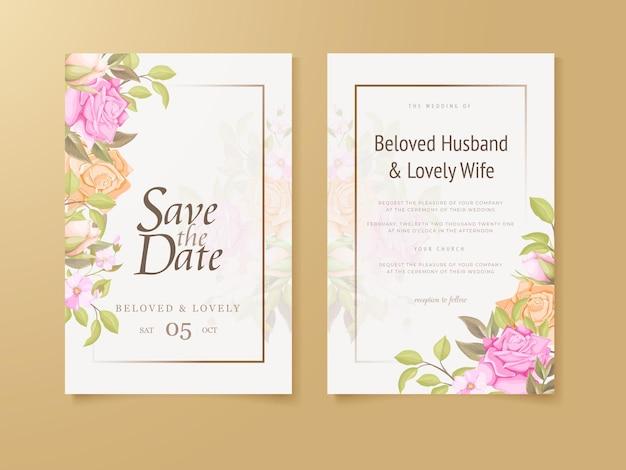 Hochzeitseinladungs-blumenkonzept-vorlagen