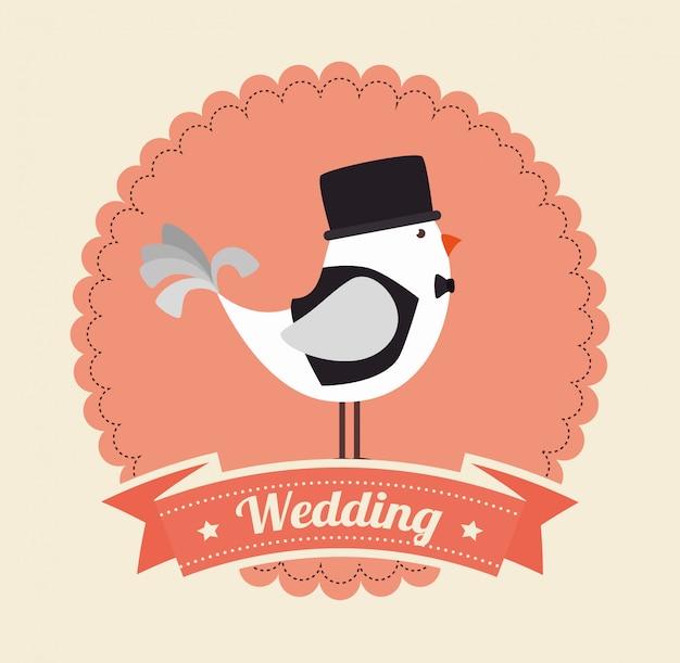 Hochzeitseinladungsdesign