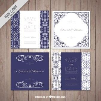 Hochzeitseinladungskarte pack