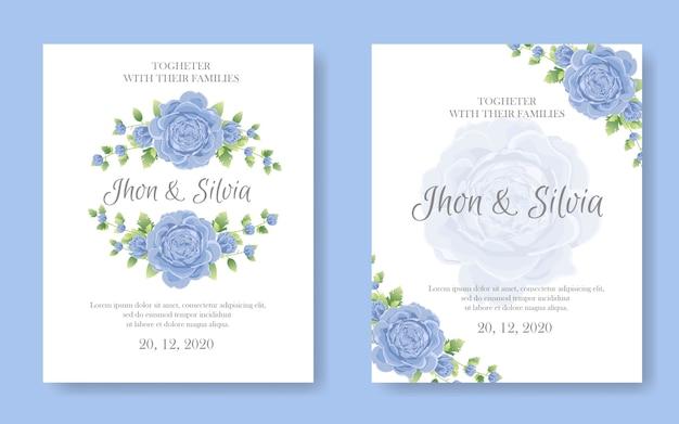 Hochzeitseinladungskarte