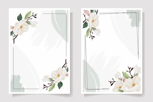 Hochzeitseinladungskarten-illustrationssammlung