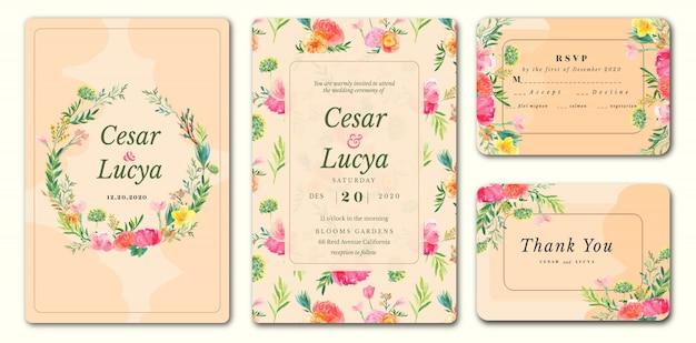 Hochzeitseinladungskarten