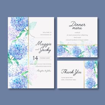 Hochzeitsempfang-blumen mit pastellblatt