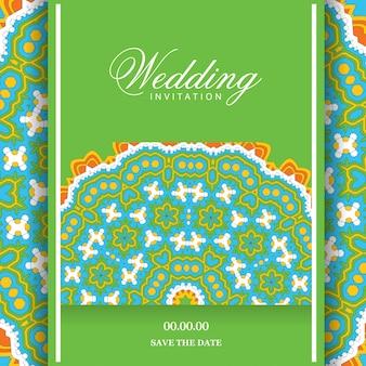 Hochzeitskarten-design-vektor