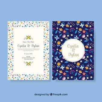 Hochzeitskarten-vorlage