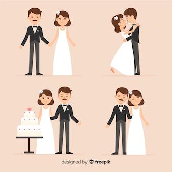 Hochzeitspaar-sammlung