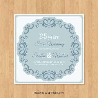 Hochzeitstag karte einladung