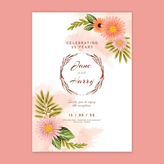 Hochzeitstagskarte