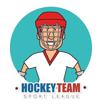 Hocket-sportspiel