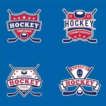 Hockey abzeichen & logos