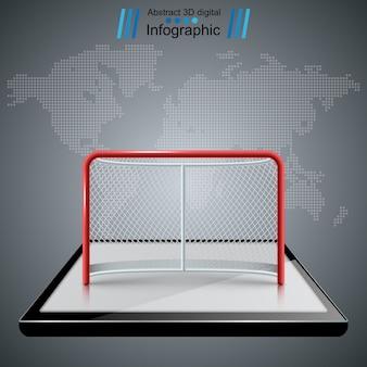 Hockey tore symbole