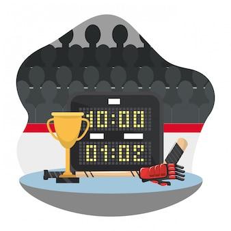 Hockey trophy award