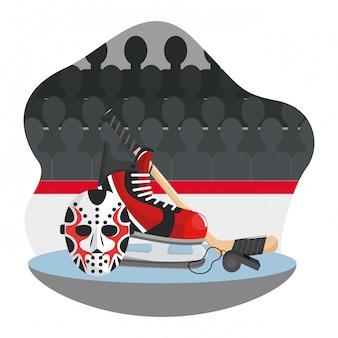 Hockeyausrüstung und ausrüstung