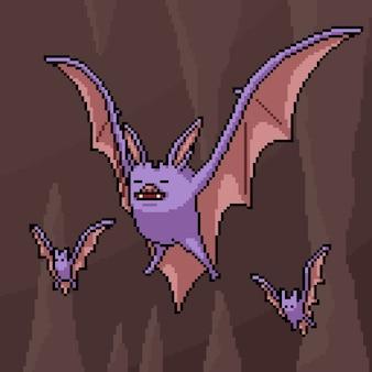 Höhlenfledermaus der pixelkunstszene