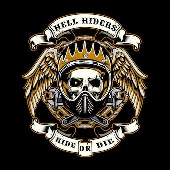 Hölle reiter hintergrund