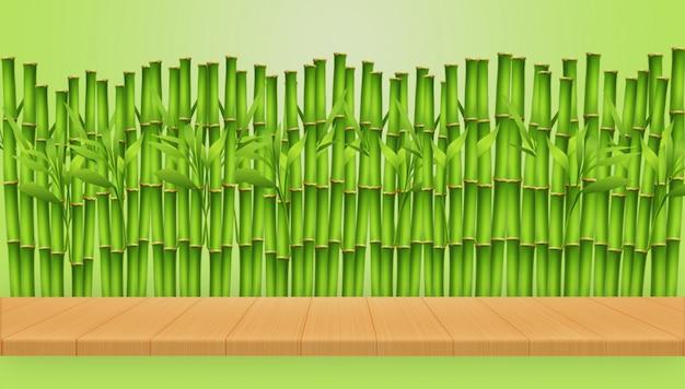 Hölzerne bambus textur