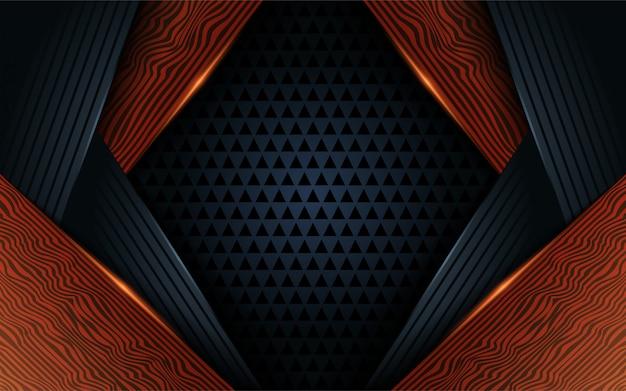 Hölzernes abstraktes hintergrunddesign des dunklen schwarzen