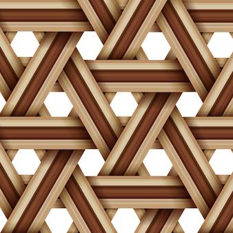 Hölzernes spinnendes bambusmuster, natürliche weidenbeschaffenheitsoberfläche
