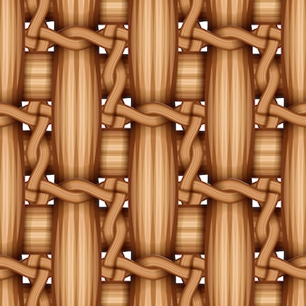 Hölzernes spinnendes bambusmuster, natürliche weidenbeschaffenheitsoberfläche.