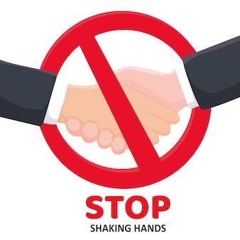 Hör auf, dir die hände zu schütteln
