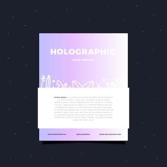 Holografische kartenvorlage