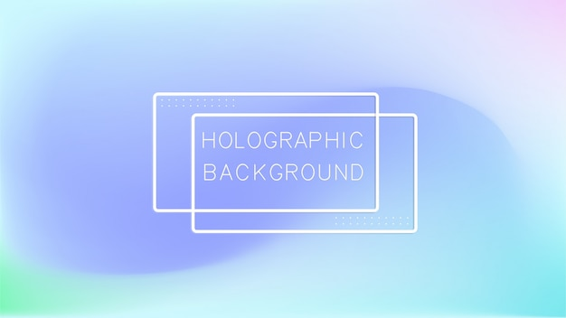 Holographische abstrakten hintergrund