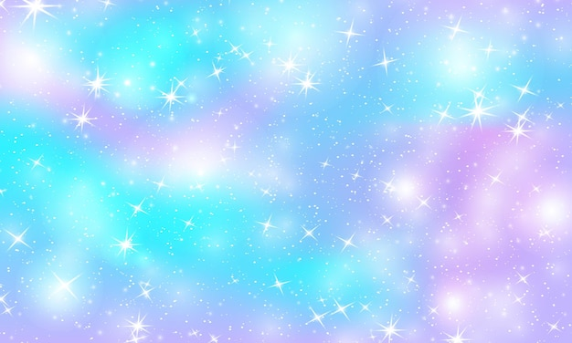 Holographische magische sterne.