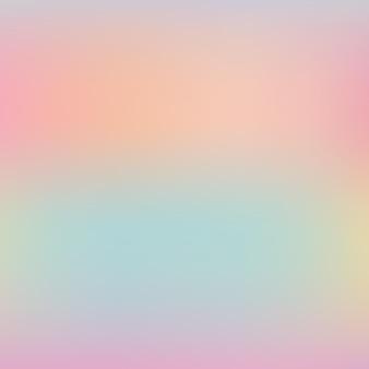 Holographischer hintergrundvektor des regenbogeneinhorns