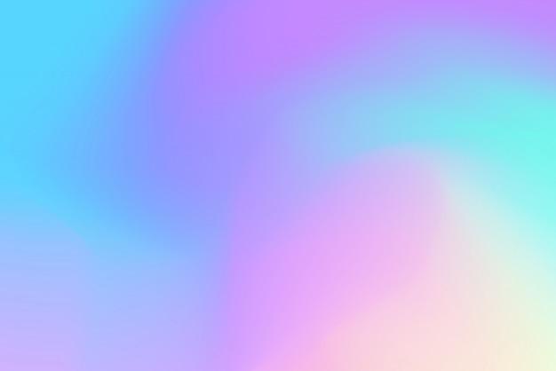 Holographischer neonhintergrund