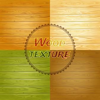 Holz textur hintergrund set
