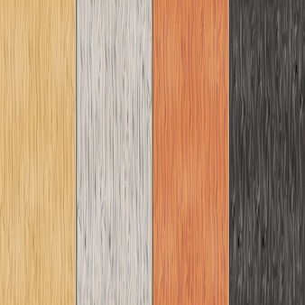 Holzbeschaffenheit auf brettern. vertikale nahtlose muster. material, nahtlos, holztafel, hintergrund und parkett, vektorillustration