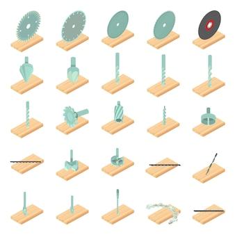 Holzmühle-icon-set