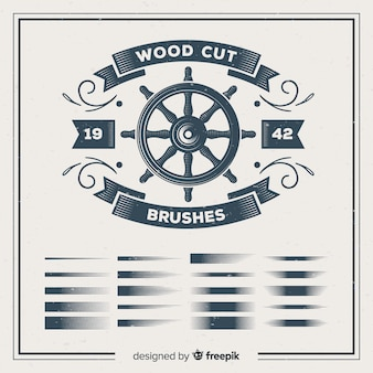 Holzschnittbürsten