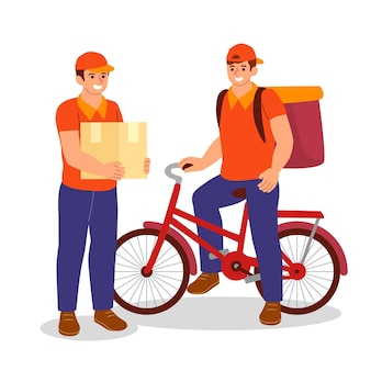 Home delivery worker pack