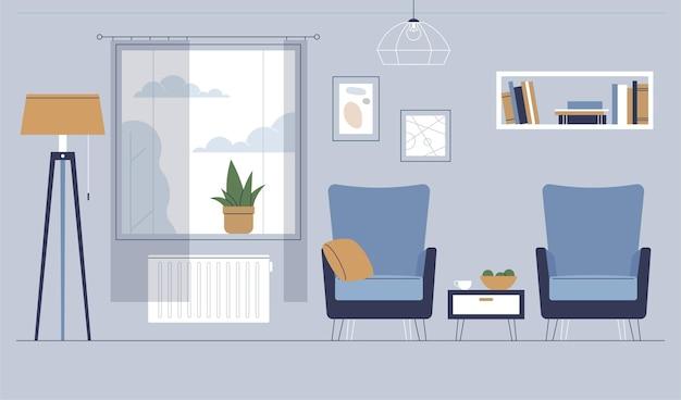 Home interior hintergrundstil
