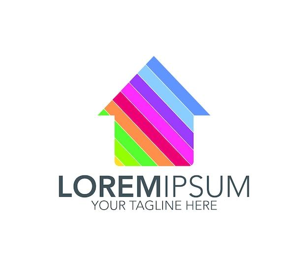 Home-logo-design-ikone