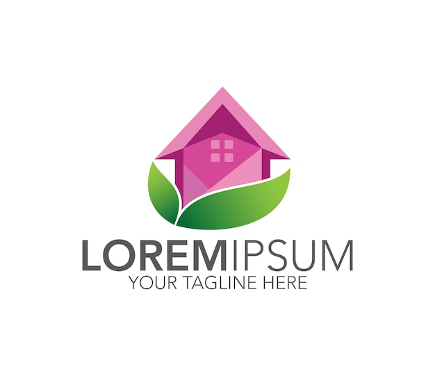 Home-logo-design-vektor