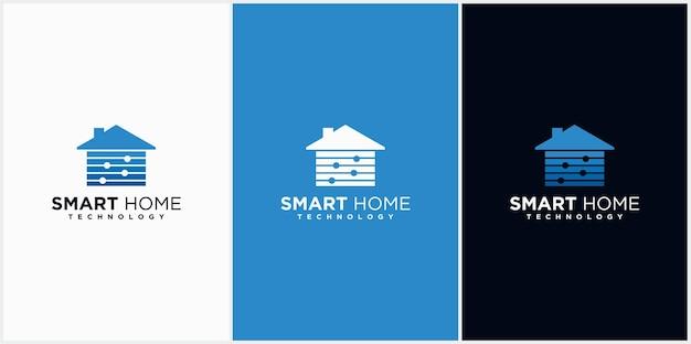 Home-temperatur-logo home-logo mit temperaturregelung klimaanlage für den wassertropfen zu hause