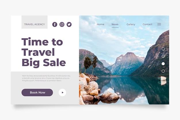 Homepage des reiseverkaufs