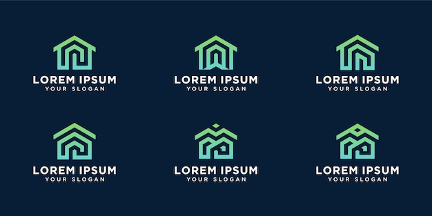 Homes logo template