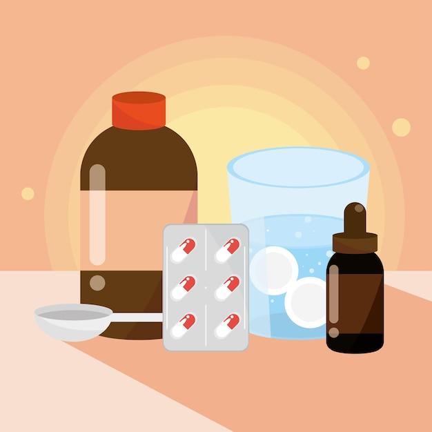 Homöopathisches medizin-set