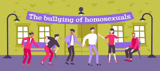Homophobie illustration
