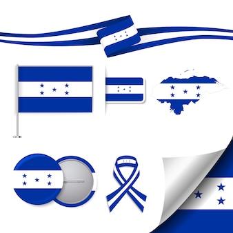 Honduras repräsentative elemente sammlung